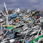 Recycling fiber cement siding